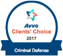 Avvo Client's Choice 2017 Criminal Defense